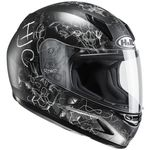 HJC CLY Vela Black White Childrens Ladies Helmet