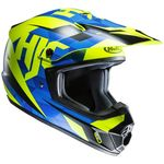 HJC CS-MX 2 II Dakota Blue / Fluo MX Helmet