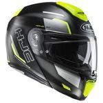 HJC RPHA 90 Rabrigo - Fluo Flip Front Helmet