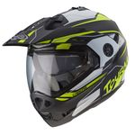 Caberg Tourmax ADV / Enduro Helmet Matt Black / White / Fluo Yellow