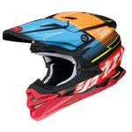 Shoei VFX-WR Zinger TC10 MX helmet