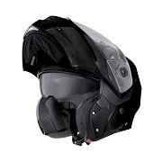 Flip front motorcycle helmets