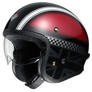 Shoei J.O open face helmets Two Wheel Centre