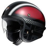 Shoei J.O open face helmets Two Wheel Centre