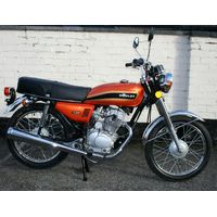 Honley MTR Classic 125cc Motorcycle Orange