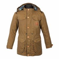 Spada Jimmy Who Wax Parka Jacket - Sand
