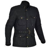 Oxford Bradwell Wax Jacket - Onyx Black