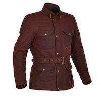 Oxford Bradwell Wax Jacket - Oxblood Red