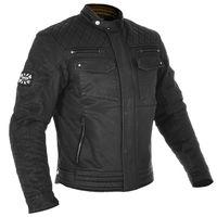 Oxford Hardy Wax Jacket - Black