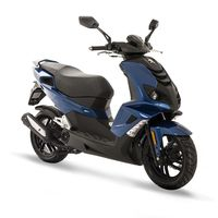 Peugeot Speedfight 4 Deep Ocean Blue 50cc