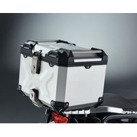 Suzuki V-Strom 1000 ABS Aluminium Top Case Set - Silver