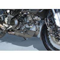 Suzuki V-Strom 1000 ABS Aluminium Skid Plate - Black