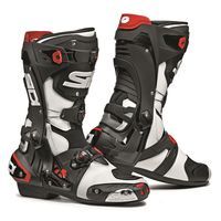 Sidi Rex Motorcycle Boots White / Black