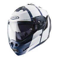 Caberg Duke Flip Front Helmet - Impact - Matt Blue / White