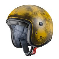 Caberg Freeride Yellow Brushed Open Face Helmet