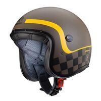 Caberg Freeride Formula - Matt Brown / Yellow Open Face Helmet