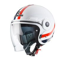 Caberg Uptown Open Face Helmet White / Red / Blue