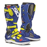 Sidi Crossfire 3 SRS Boots Flo Yellow / Blue