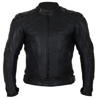 Weise Diablo Leather Jacket - Black