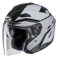 HJC IS-33 2 Korba Open Face Helmet Black