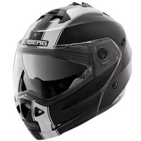 Caberg Duke Legend Flip Front Helmet -  Black /  White