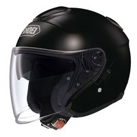 Shoei J Cruise Black open face helmet