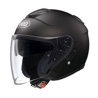 Shoei J Cruise Matt Black open face helmet