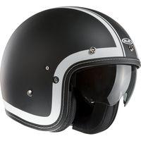 HJC FG-70S Heritage black open face helmet