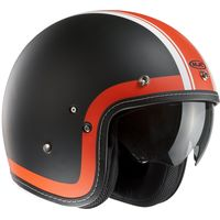 HJC FG-70S Heritage orange open face helmet