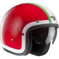 HJC FG-70S Heritage red open face helmet