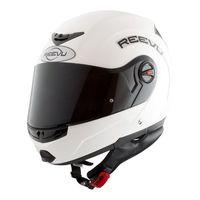 reevu fsx1 flip front helmet white