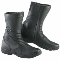 Spada Seeker Black Boots Front View