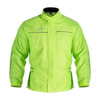 Oxford Rainseal All Weather Over Jacket Fluo Yellow Front View