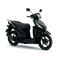 Suzuki Address 110 Black New Scooter Nottingham UK