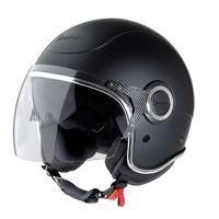 VJ Vespa Helmet - Black (Nero Opaco)