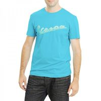 Vespa Mens Azzurro T-Shirt