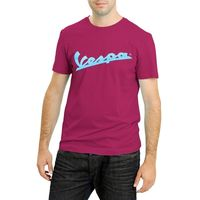 Vespa Mens Bordeaux Mens T-Shirt