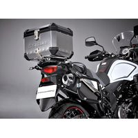 Suzuki V-Strom 650 ABS Top Case Set Silver