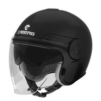 Caberg Uptown Open Face Helmet Matt Black