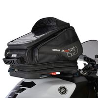 Oxford Q30R Tank Bag - Black 30 Litres