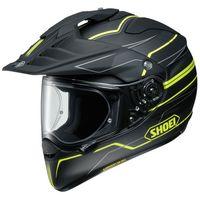 Shoei Hornet ADV Navigate TC3 Yellow motorcycle helmet