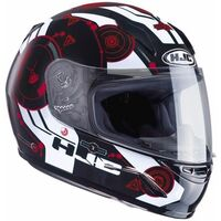HJC CLY Simitic Red Childrens Ladies Helmet
