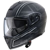 Caberg Drift Armour Helmet Matt Black Silver
