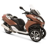 New Peugeot Metropolis 400 ABS TCS Brown Peugeot Scooters UK Nottingham