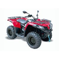 Quadzilla Terrain 500 Facelift 4x4 EFI High Spec EPS road legal quad red