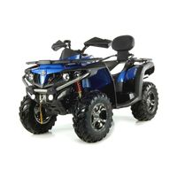 Quadzilla CForce 550 LWB 4x4 EFI road legal quad blue