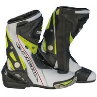 Richa Blade Boots Black White and Yellow