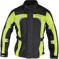Richa Bolt Jacket - Black and Yellow