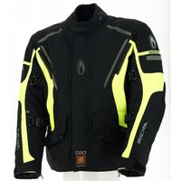 Richa Cyclone Jacket - Black and Yellow