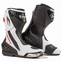 Richa Drift Boots Black and White